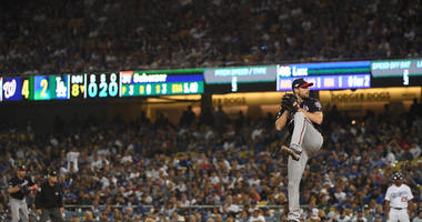 Strasburg, Scherzer Pitch Nats Past Dodgers To Even NLDS
