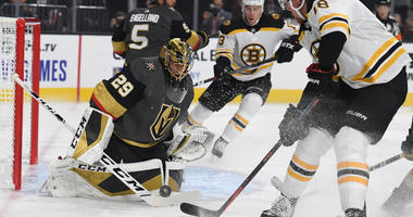Bruins Hand VGK First Loss Of The Year
