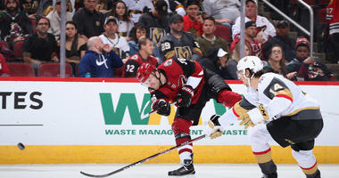 Coyotes Top Golden Knights 4-1 For 1st Win