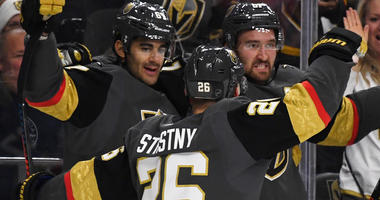 Golden Knights Snap Two-Game Skid, Top Flames 6-2