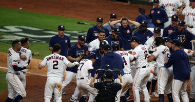 Altuve's Home Run Wins AL Pennant For Astros