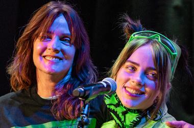 Billie Eilish with mom Maggie Baird; Sept. 20, 2019