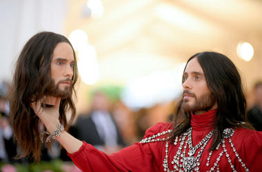 Jared Leto attends The 2019 Met Gala Celebrating Camp: Notes on Fashion at Metropolitan Museum of Art on May 06, 2019 in New York City