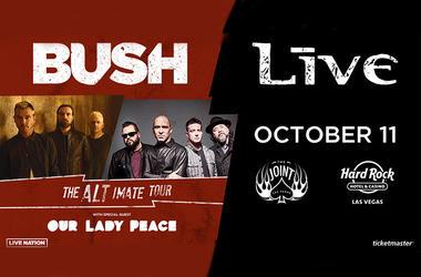 Live + Bush