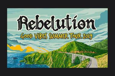 Rebelution Summer Tour 2019
