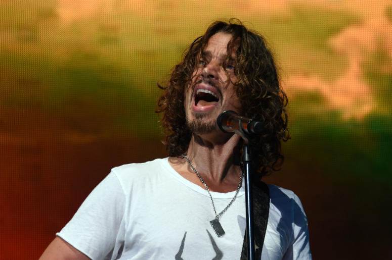 Chris Cornell Performs in 2014