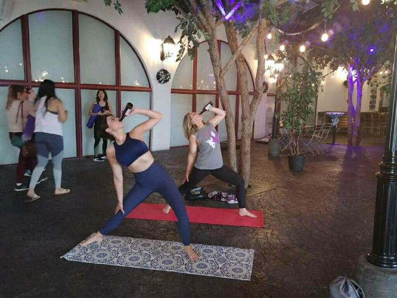 MJRadioDvia beer yoga