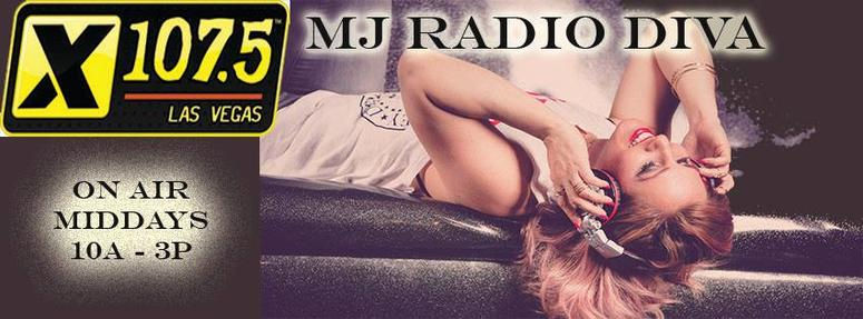 MJRadioDiva Middays X107.5