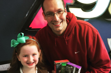 Kevin the Intern with Girl Scout
