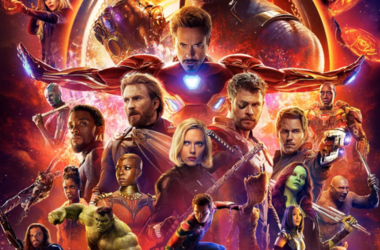 "Movie poster for ""Avengers: Infinity War"" set to be released on April 27."