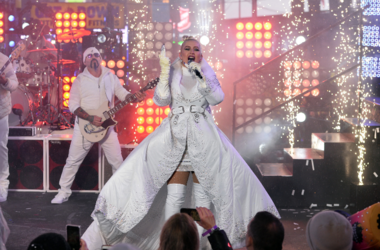 Singer-songwriter Singer Christina Aguilera performs during New Year's Eve 2019 celebrations in Times Square, NewYork, NY