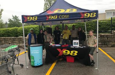 Goodwill Earth Day Drive at Dierbergs with Jen Myers