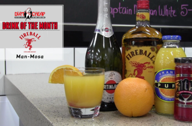 This Man-Mosa is this week's Dirt Cheap Drink of the Month.