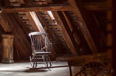 Creepy Rocking Chair