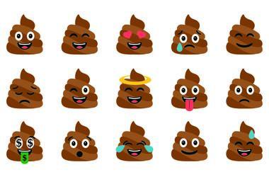 Poop emojis