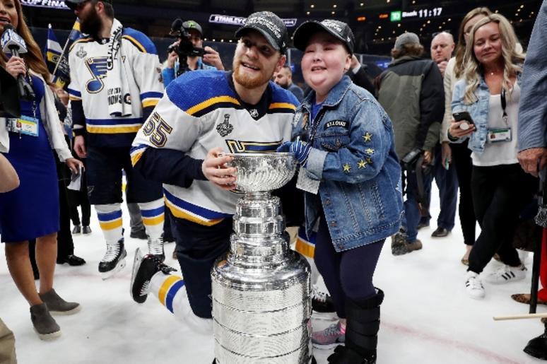 St. Louis Blues Laila Anderson Stanley Cup