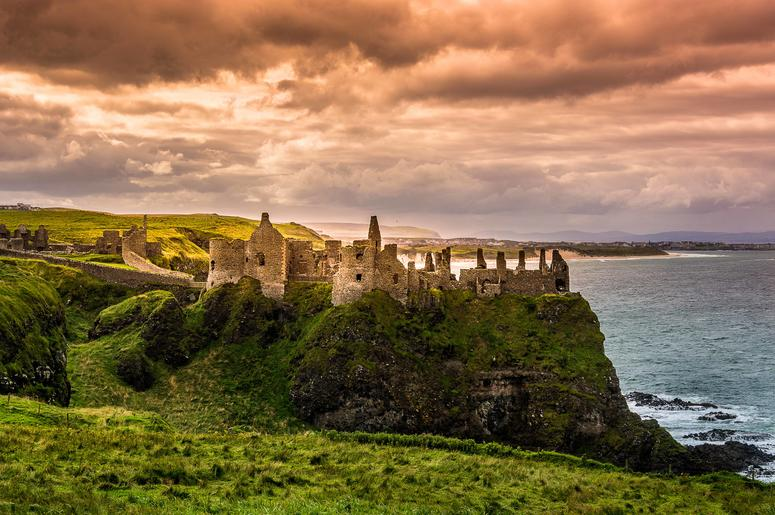 Dunluce Castle Northern Ireland