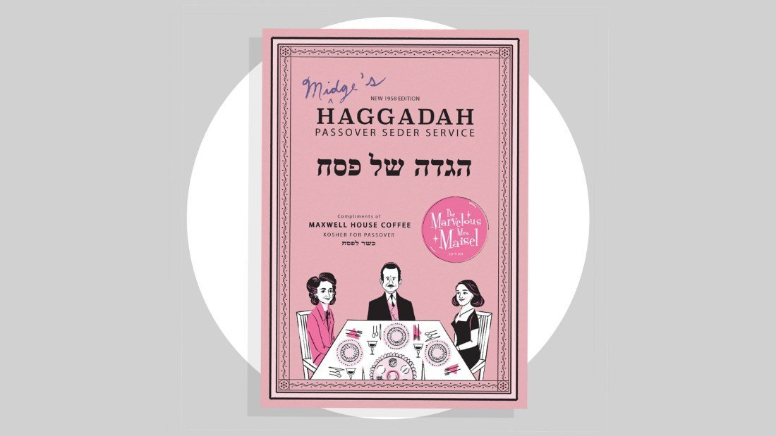 Maxwell House introduces a 'Mrs  Maisel'-themed Passover