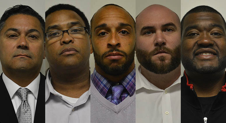 5 prison guards found not guilty for aggravated assault in