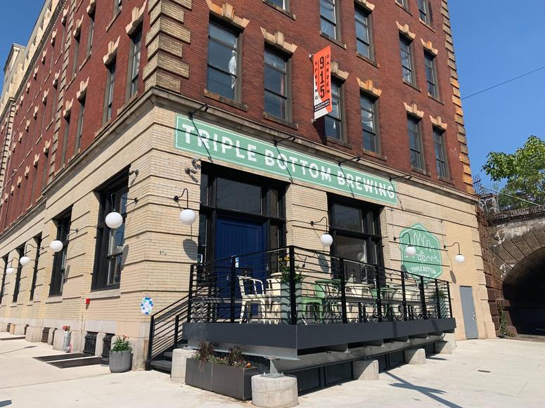 Triple Bottom Brewing at 915 Spring Garden Street
