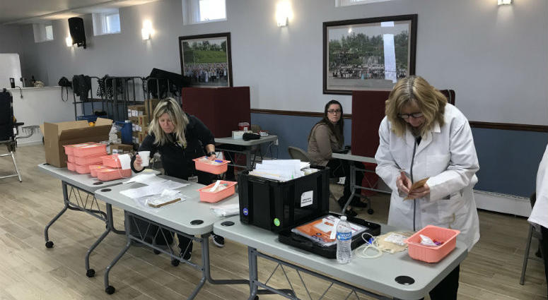 Mission Society Church of God Blood Drive
