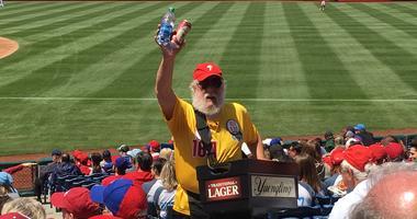 Phillies Beer Man