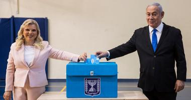 Israeli Prime Minister Benjamin and his wife Sarah.
