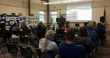 John Heinz National Wildlife Refuge hunters training