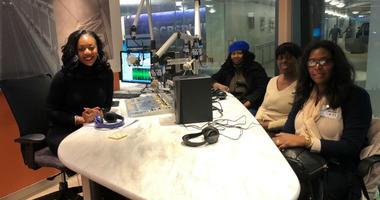 Angela McIver, Theresa McCormick and Tiffany Green