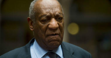 May 24, 2017; Pittsburgh, PA, USA; Bill Cosby speaks to the media as he and his attorney leave Allegheny County Courthouse after the third day of jury selection.