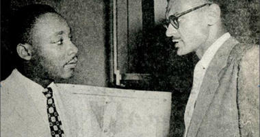 CT Vivian with Dr. Martin Luther King, Jr.