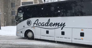 Villanova Team Bus