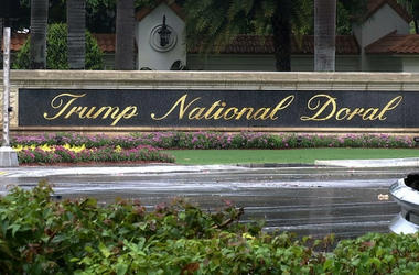 File image of the Trump National Doral resort in Doral, Fla.