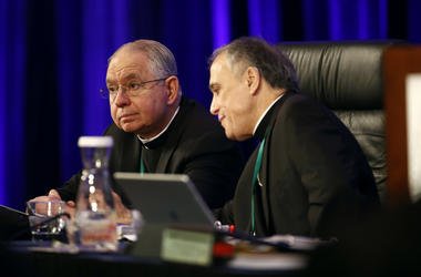Archbishop Jose Gomez and Cardinal Daniel DiNardo
