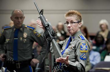 Gun demonstration