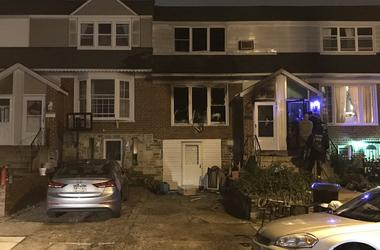 Two people were killed and two others are injured after fire broke out inside this home in Northeast Philly overnight.