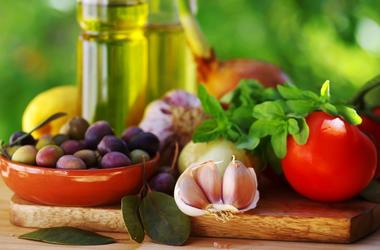 A Mediterranean diet.
