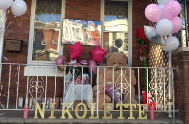 Friends and family mourn 2-year-old Nikolette Rivera with a vigil in Kensington.