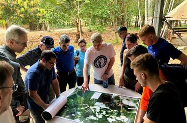 Students visit Panama as part of Villanova Engineering Service Learning Center trip.