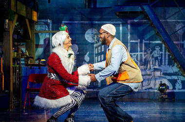 "Shafiq Hicks plays Tom Collins in ""Rent."""