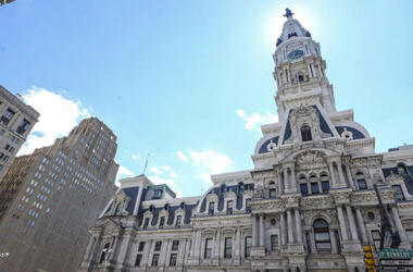 Philadelphia City Hall.