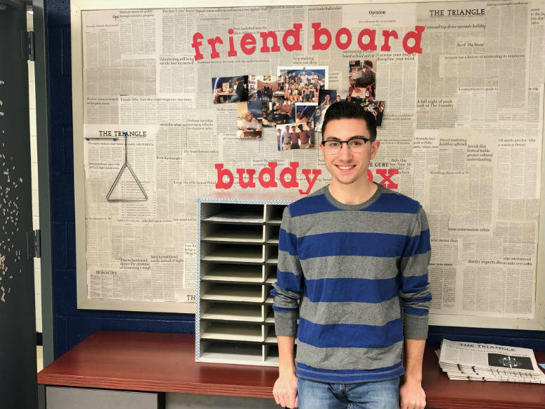 The Triangle Editor-in-Chief Mike Avena.