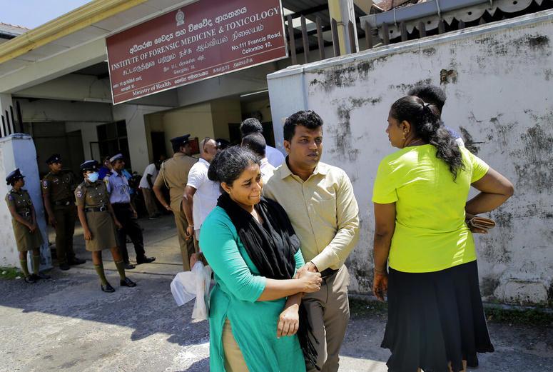 A Sri Lankan couple.