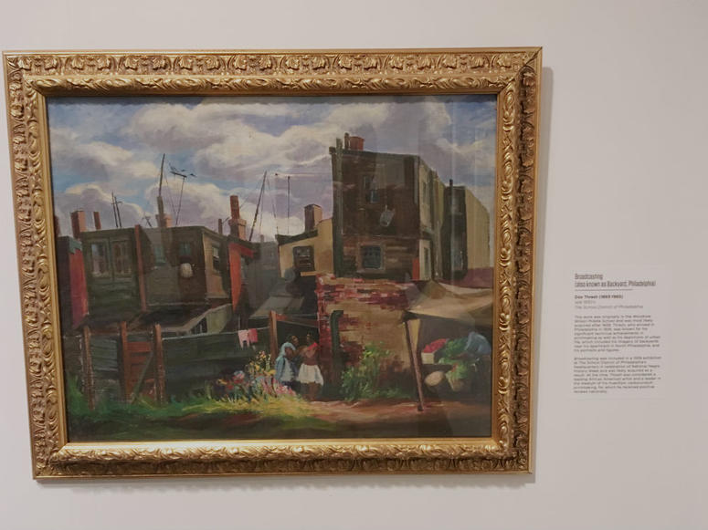 The works — about 1,200 pieces — include paintings by Dox Thrash, Henry Ossawa Tanner, and Walter Emerson Baum.