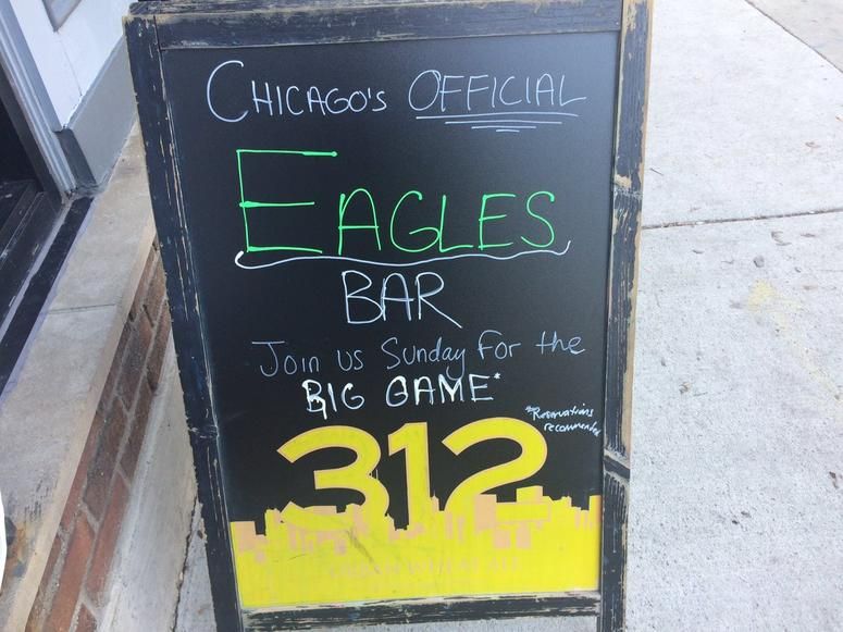 Chicago Eagles Bar
