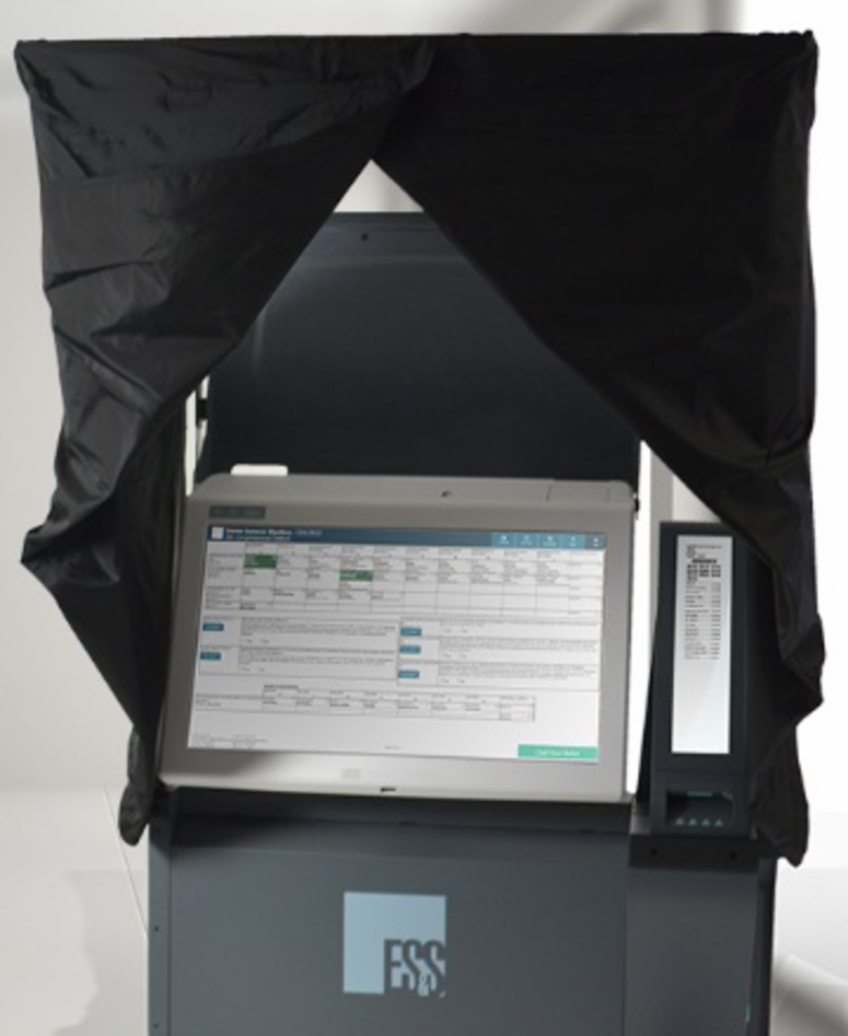 Philadelphia's city commissioners voted Feb. 20, 2019 to buy new voting machines by the company Election Systems & Software.