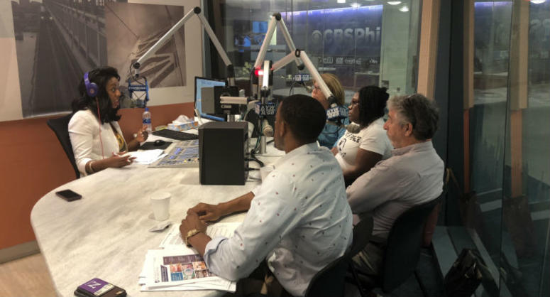 Guests include Lee Whack, spokesman for the school district; Jerry Roseman, director at the Philadelphia Federation of Teachers; Lisa Haver, co-founder of Alliance for Philadelphia Public Schools; and Kendra Brooks, coordinator of Our City, Our Schools.