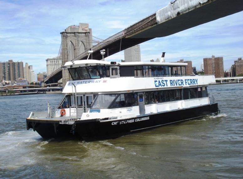 Ferry to Dumbo