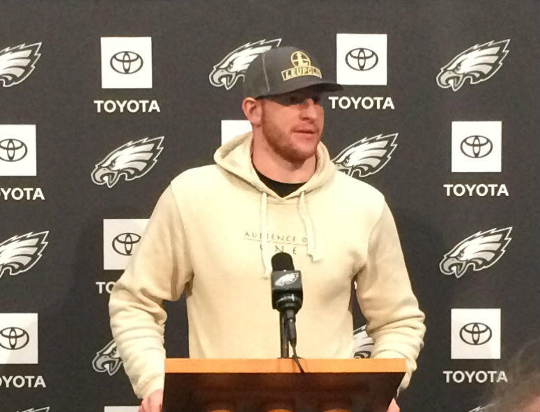 The Dallas Cowboys have featured one of the top defenses in the NFL in recent weeks. Carson Wentz has no intention of giving the Cowboys any extra motivation.