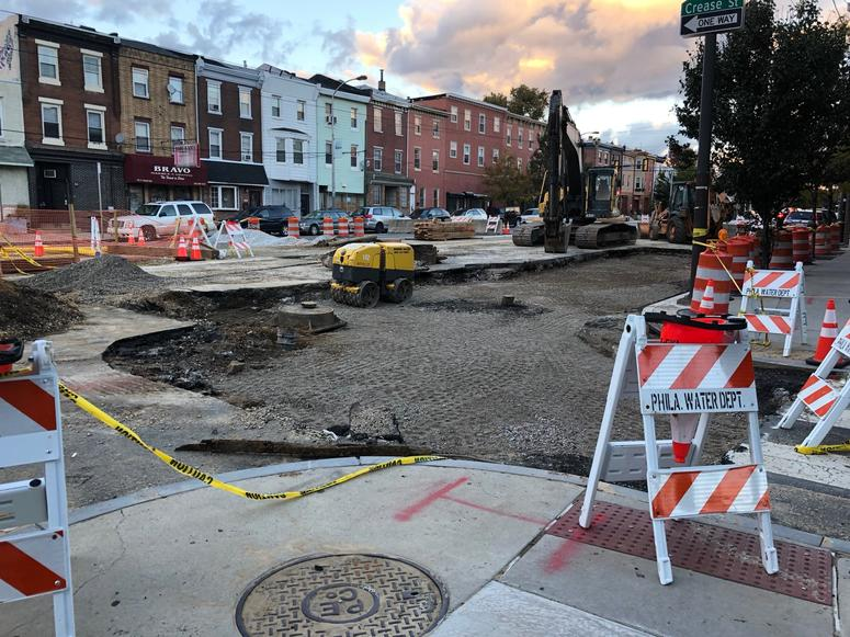 """Fishtown road closures will continue for """"upwards of one month."""""""